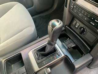 2009 Toyota Landcruiser Prado KDJ150R GXL Silver 5 Speed Sports Automatic Wagon