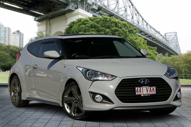 Used Hyundai Veloster FS3 SR Coupe Turbo, 2014 Hyundai Veloster FS3 SR Coupe Turbo Grey 6 Speed Sports Automatic Hatchback