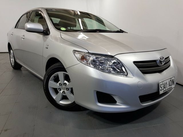 Used Toyota Corolla ZRE152R Ascent, 2009 Toyota Corolla ZRE152R Ascent Silver 4 Speed Automatic Sedan