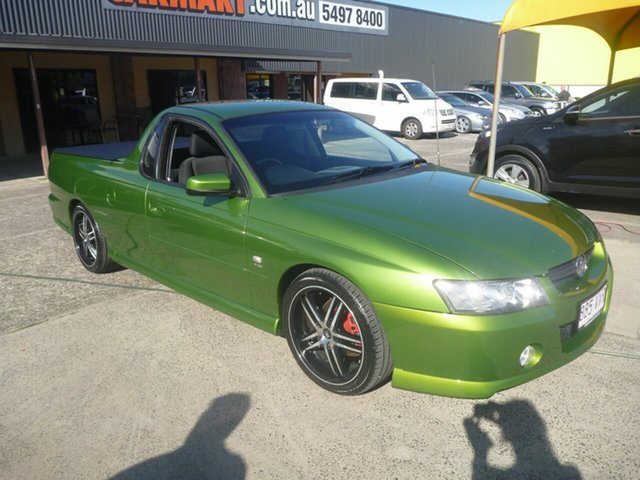 Used Holden Ute VY Storm S, 2003 Holden Ute VY Storm S Green 5 Speed Manual Utility