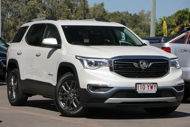 Demo Holden Acadia AC MY19 LTZ AWD, 2018 Holden Acadia AC MY19 LTZ AWD Abalone White 9 Speed Sports Automatic Wagon