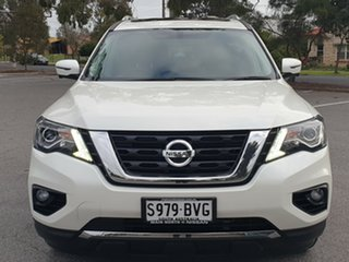 2017 Nissan Pathfinder R52 Series II MY17 Ti X-tronic 4WD White 1 Speed Constant Variable Wagon.