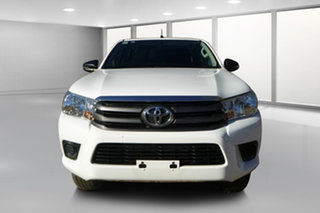 2017 Toyota Hilux GUN126R MY17 SR (4x4) Glacier White 6 Speed Automatic Dual Cab Chassis