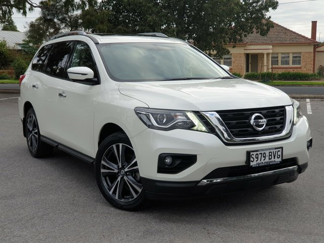 Used Nissan Pathfinder R52 Series II MY17 Ti X-tronic 4WD, 2017 Nissan Pathfinder R52 Series II MY17 Ti X-tronic 4WD White 1 Speed Constant Variable Wagon