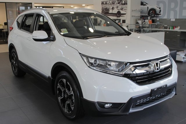 Demo Honda CR-V RW MY19 VTi-E FWD, 2019 Honda CR-V RW MY19 VTi-E FWD White Orchid 1 Speed Constant Variable Wagon