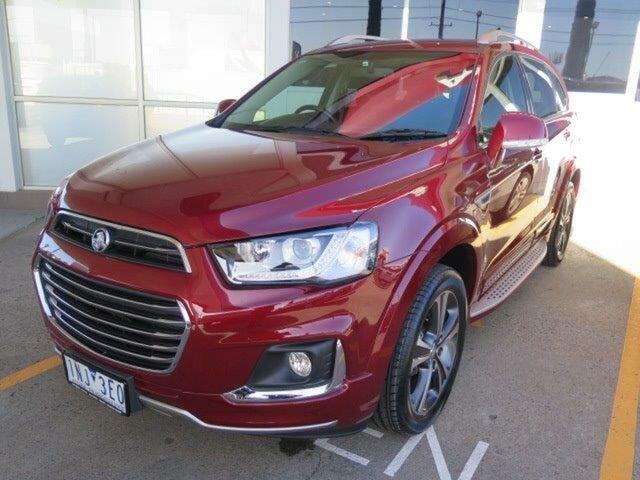 Used Holden Captiva CG MY18 LTZ AWD, 2018 Holden Captiva CG MY18 LTZ AWD Burgundy 6 Speed Sports Automatic Wagon
