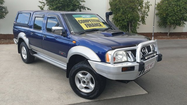 Used Nissan Navara D22 MY2008 ST-R, 2008 Nissan Navara D22 MY2008 ST-R Blue 5 speed Manual Utility