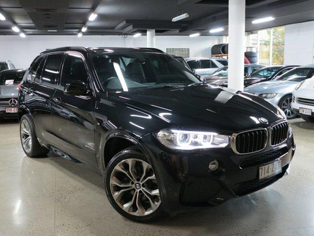 Used BMW X5 F15 sDrive25d, 2014 BMW X5 F15 sDrive25d Black 8 Speed Automatic Wagon