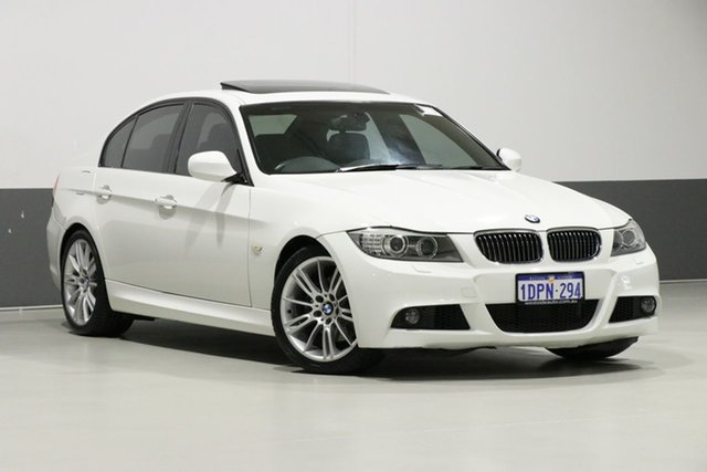 Used BMW 325i E90 MY11 Exclusive, 2011 BMW 325i E90 MY11 Exclusive White 6 Speed Auto Steptronic Sedan