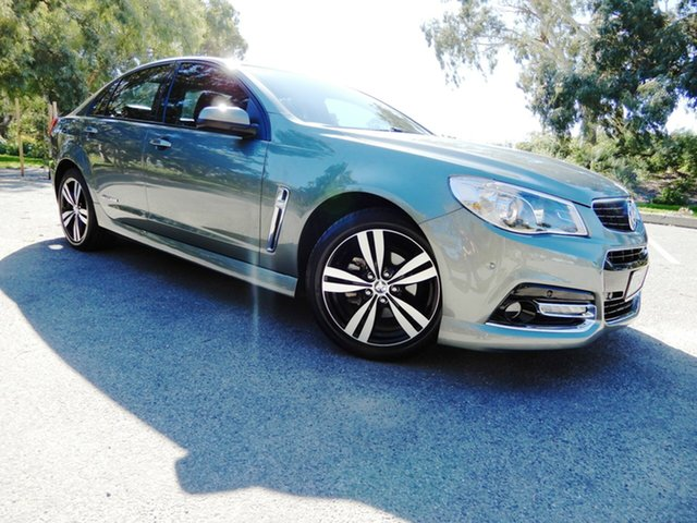 Used Holden Commodore VF MY15 SV6 Storm, 2015 Holden Commodore VF MY15 SV6 Storm Prussian Steel 6 Speed Sports Automatic Sedan