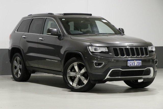 Used Jeep Grand Cherokee WK MY15 Limited (4x4), 2015 Jeep Grand Cherokee WK MY15 Limited (4x4) Grey 8 Speed Automatic Wagon