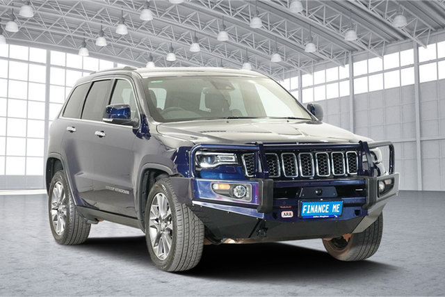 Used Jeep Grand Cherokee WK MY17 Limited, 2017 Jeep Grand Cherokee WK MY17 Limited True Blue 8 Speed Sports Automatic Wagon