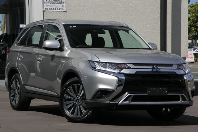 Used Mitsubishi Outlander ZL MY18.5 ES 2WD, 2018 Mitsubishi Outlander ZL MY18.5 ES 2WD Silver 6 Speed Constant Variable Wagon