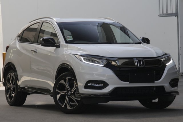 Demo Honda HR-V MY19 RS, 2019 Honda HR-V MY19 RS White Orchid 1 Speed Constant Variable Hatchback