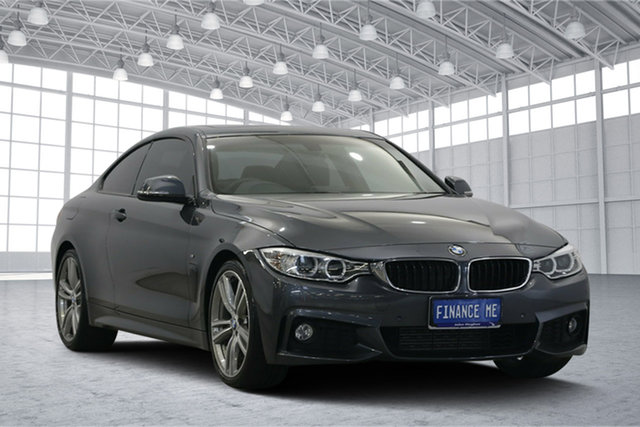 Used BMW 4 Series F32 , 2014 BMW 4 Series F32 Grey 8 Speed Sports Automatic Coupe