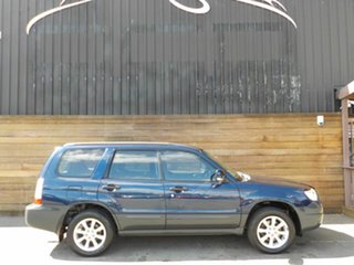 2006 Subaru Forester 79V MY06 XS AWD Blue 5 Speed Manual Wagon.