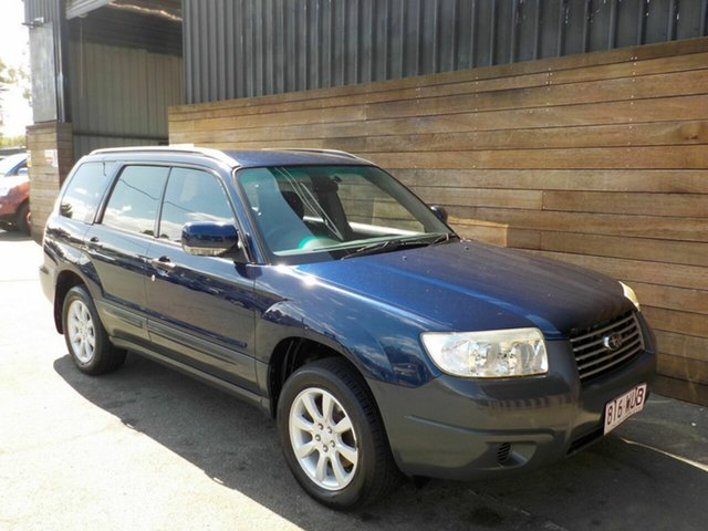 Used Subaru Forester 79V MY06 XS AWD, 2006 Subaru Forester 79V MY06 XS AWD Blue 5 Speed Manual Wagon