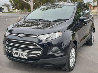 2015 Ford Ecosport BK Trend PwrShift Black 6 Speed Sports Automatic Dual Clutch Wagon.