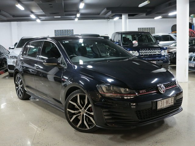Used Volkswagen Golf VII MY16 GTI DSG Performance, 2016 Volkswagen Golf VII MY16 GTI DSG Performance Black 6 Speed Sports Automatic Dual Clutch