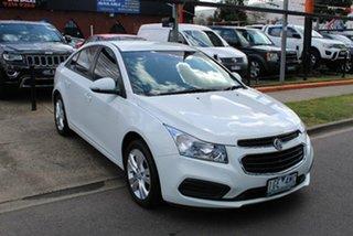 2015 Holden Cruze JH MY15 Equipe White 6 Speed Automatic Sedan.