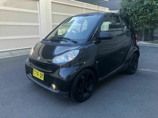2010 Smart ForTwo 451 MY09 pulse Softip mhd Black 5 Speed Seq Manual Auto-Clutch Coupe