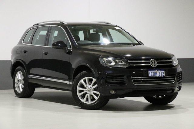 Used Volkswagen Touareg 7P MY14 150 TDI, 2014 Volkswagen Touareg 7P MY14 150 TDI Black 8 Speed Automatic Wagon
