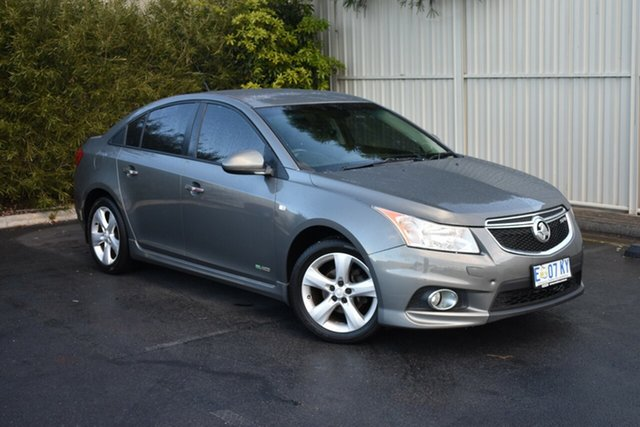 Used Holden Cruze JH Series II MY13 SRi-V, 2013 Holden Cruze JH Series II MY13 SRi-V Alto Grey 6 Speed Manual Sedan