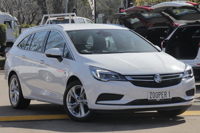 Used Holden Astra BK MY18 LT Sportwagon, 2018 Holden Astra BK MY18 LT Sportwagon White 6 Speed Sports Automatic Wagon