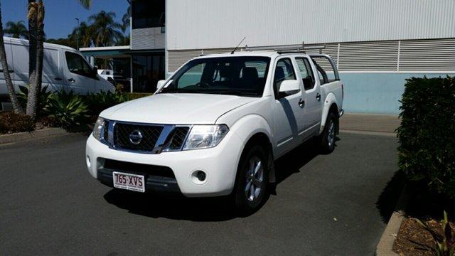 Used Nissan Navara D40 S6 MY12 ST 4x2, 2012 Nissan Navara D40 S6 MY12 ST 4x2 White 5 Speed Sports Automatic Utility