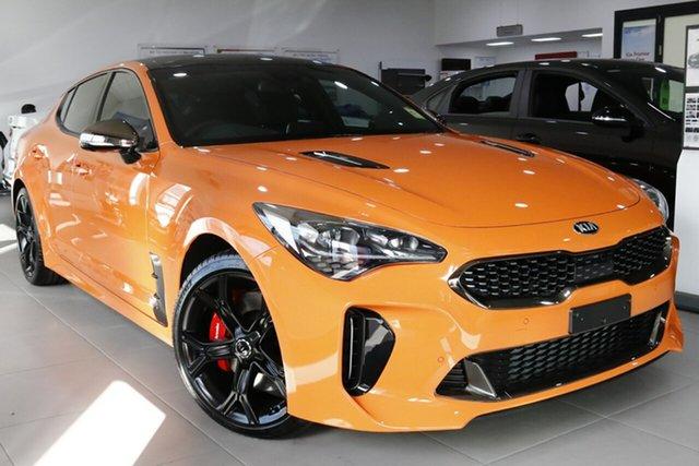 New Kia Stinger CK MY20 GT Fastback, 2020 Kia Stinger CK MY20 GT Fastback Neon Orange 8 Speed Sports Automatic Sedan