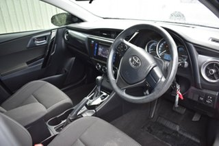 2017 Toyota Corolla ZRE182R Ascent S-CVT Red/Black 7 Speed Constant Variable Hatchback