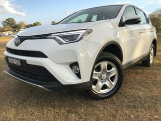2018 Toyota RAV4 ASA44R MY18 GX (4x4) Glacier White 6 Speed Automatic Wagon.