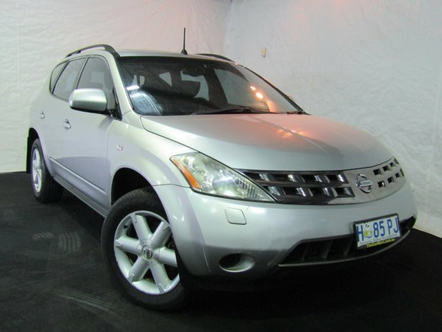 Used Nissan Murano Z50 TI, 2005 Nissan Murano Z50 TI Silver 6 Speed Constant Variable Wagon