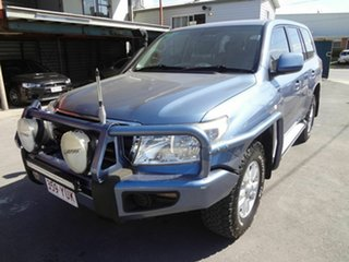 2011 Toyota Landcruiser VDJ200R 09 Upgrade GXL (4x4) Blue 6 Speed Automatic Wagon.