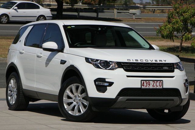 Used Land Rover Discovery Sport L550 16.5MY SD4 SE, 2016 Land Rover Discovery Sport L550 16.5MY SD4 SE White 9 Speed Sports Automatic Wagon