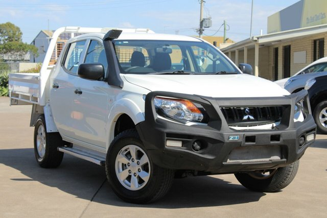 Used Mitsubishi Triton MQ MY17 GLX+ Double Cab, 2016 Mitsubishi Triton MQ MY17 GLX+ Double Cab Unknown 5 Speed Sports Automatic Utility