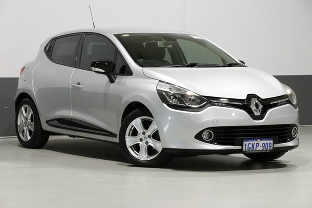 Used Renault Clio X98 Expression, 2015 Renault Clio X98 Expression Silver 6 Speed Automated Manual Hatchback