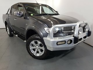 2014 Mitsubishi Triton MN MY15 GLX-R Double Cab Grey 5 Speed Manual Utility.