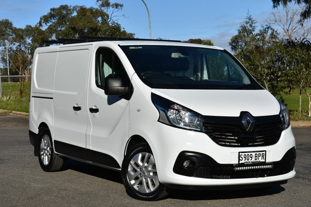 Used Renault Trafic X82 Crew Low Roof LWB, 2016 Renault Trafic X82 Crew Low Roof LWB White 6 Speed Manual Van