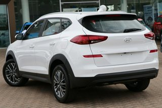 2020 Hyundai Tucson TL4 MY21 Active X AWD Pure White 8 Speed Sports Automatic Wagon