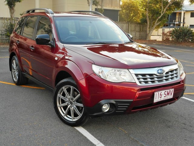 Used Subaru Forester S3 MY12 X AWD Luxury Edition, 2012 Subaru Forester S3 MY12 X AWD Luxury Edition Maroon 4 Speed Sports Automatic Wagon