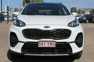 2018 Kia Sportage QL MY19 GT-Line AWD Clear White 6 Speed Sports Automatic Wagon