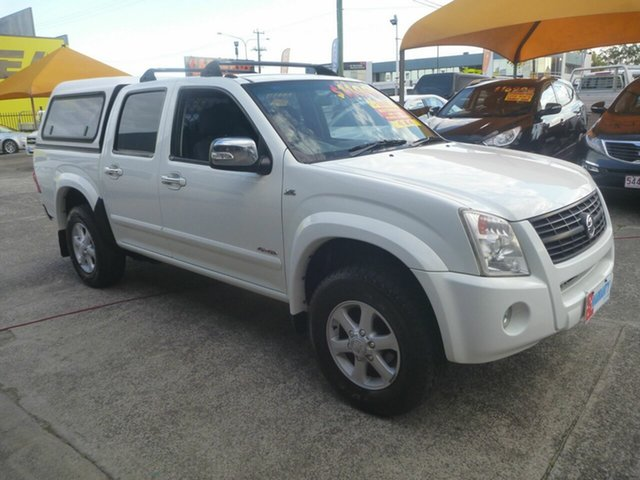 Used Holden Rodeo RA MY07 LT Crew Cab, 2007 Holden Rodeo RA MY07 LT Crew Cab White 4 Speed Automatic Utility