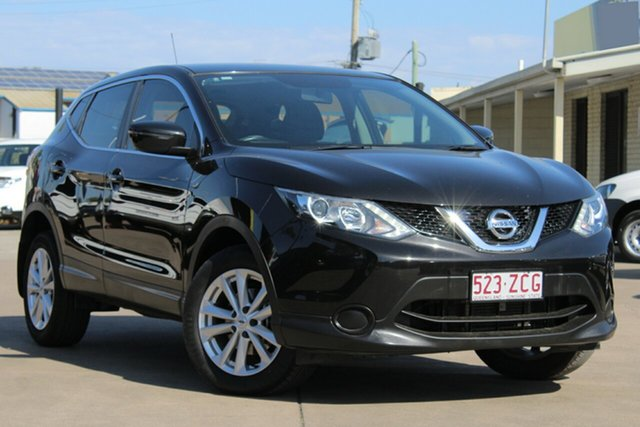 Used Nissan Qashqai J11 ST, 2015 Nissan Qashqai J11 ST Pearl Black 1 Speed Constant Variable Wagon
