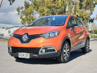 2015 Renault Captur J87 Expression EDC Orange 6 Speed Sports Automatic Dual Clutch Hatchback