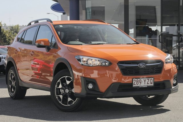 Demo Subaru XV G5X MY19 2.0i-L Lineartronic AWD, 2019 Subaru XV G5X MY19 2.0i-L Lineartronic AWD Sunshine Orange 7 Speed Constant Variable Wagon