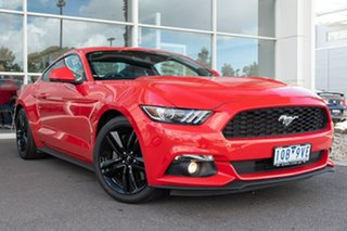 2016 Ford Mustang FM Fastback SelectShift 6 Speed Sports Automatic Fastback.