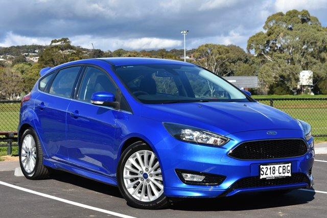 Used Ford Focus LZ Sport, 2016 Ford Focus LZ Sport Blue 6 Speed Manual Hatchback