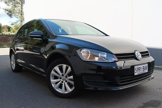 Used Volkswagen Golf VII MY14 90TSI DSG Comfortline, 2014 Volkswagen Golf VII MY14 90TSI DSG Comfortline Black 7 Speed Sports Automatic Dual Clutch