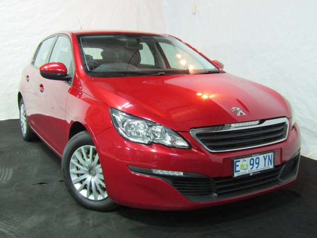 Used Peugeot 308 T9 Active, 2015 Peugeot 308 T9 Active Red/Black 6 Speed Sports Automatic Hatchback